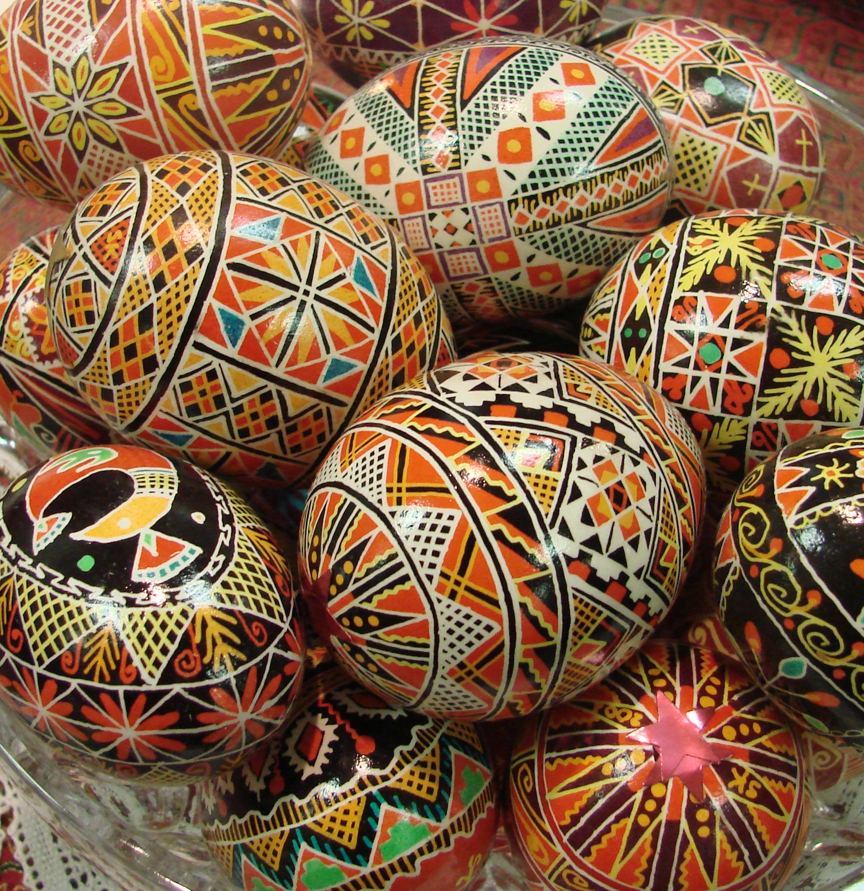 Painted Eggs - Russian Orthodox Festival