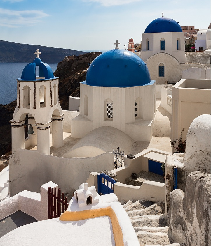 Oia, Santorini Greece Vacation - June 2015