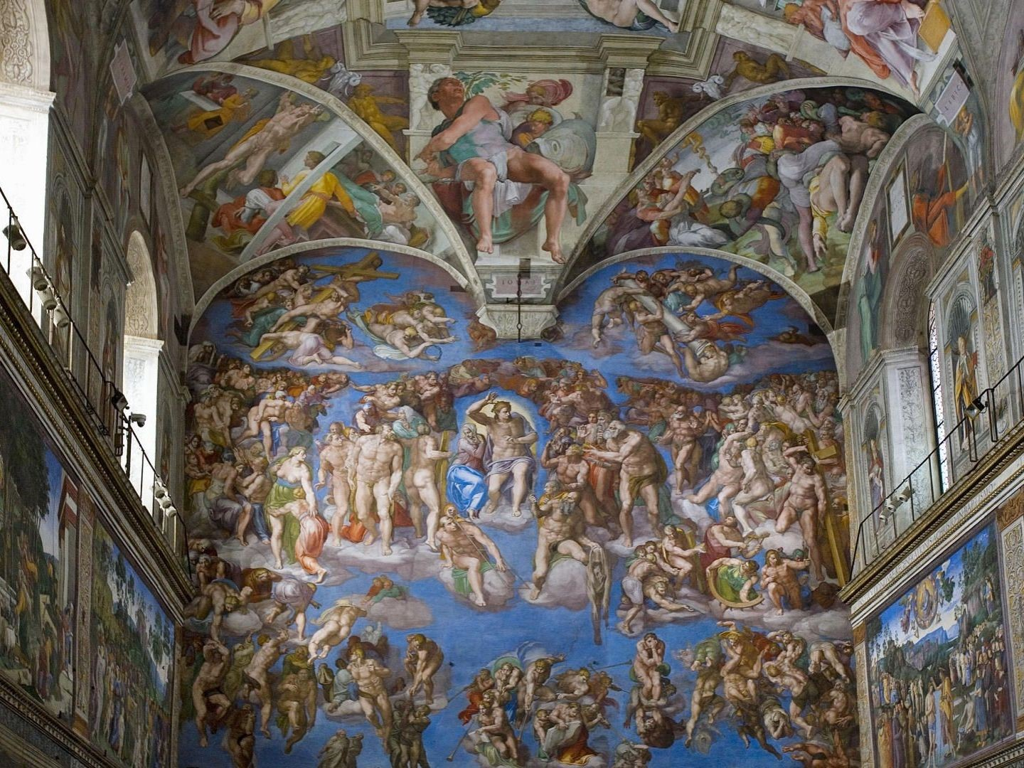 The Sistine Chapel, The Vatican City Museum, Italy
