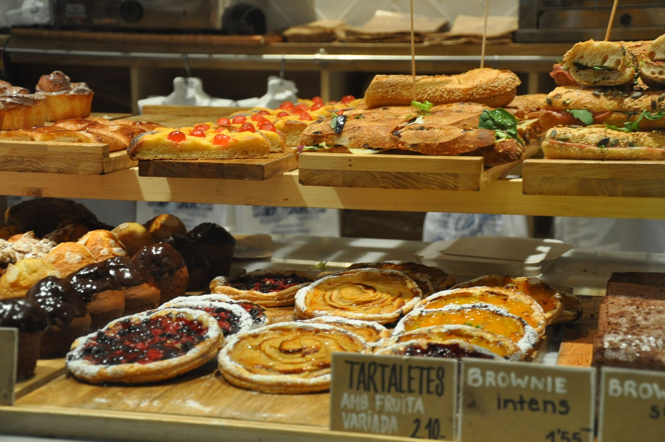Barcelona Bakery - Tarts and Muffins